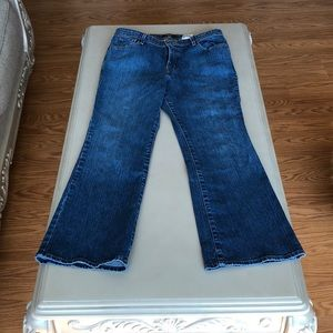 Like new boot cut jeans